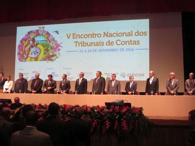 V Encontro Nacional dos Tribunais de Contas